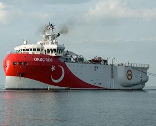 Oruç Reis sismik araştırma gemisi için yeni Navtex ilan edildi