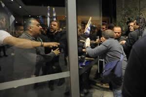KKTC Cumhurbaşkanı'na çirkin saldırı