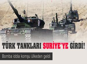 Yunanistan'tan 'Türk tankları Suriye'de' iddiası!