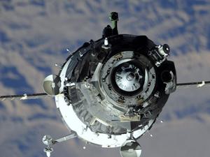 Soyuz UUİ'ye kenetlendi