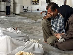 """Suriye'de """"zehirli gaz"""" kullanıldığı iddiası"""