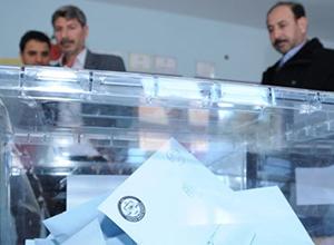 32 ilde oy kullanma işlemi sona erdi