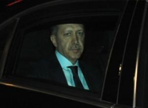 Erdoğan'ın korumalarından ilginç bir görüntü