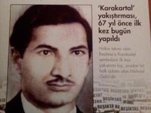 Mehmet Galin tribüne dönüyor
