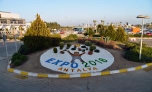 """EXPO 2016 Antalya """"yeşil şehir"""" için Londra'da"""