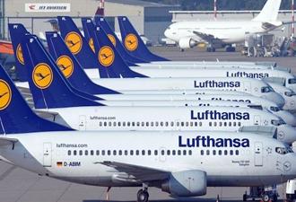Almanya'da hava ulaşımına grev darbesi!