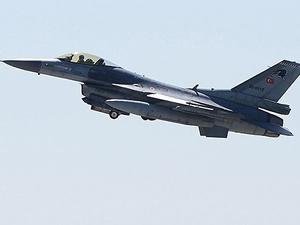 Suriye'den Türk jetlerine 16 dakika taciz