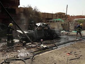 Irak'ta karargaha bombalı saldırı