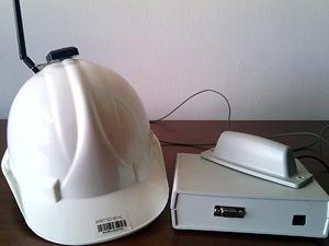 İnşaat kazalarını sensörlü baret önleyecek