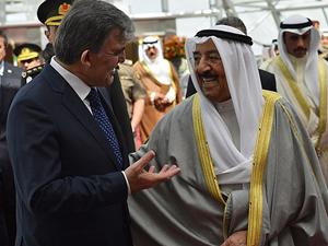 Cumhurbaşkanı Gül'den Kuveyt Emiri Şeyh Sabah'a tarihi mektup