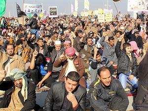 Türkiye'den terör mağduru Irak halkına yardım