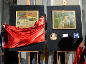Servet değerindeki tablolar bakın nerede bulundu...