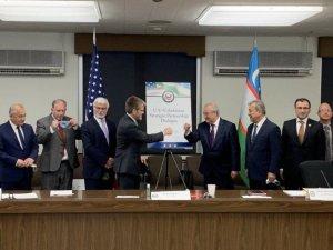 """Özbekistan ve ABD arasında """"Stratejik Ortaklık Diyaloğu"""" kuruldu"""