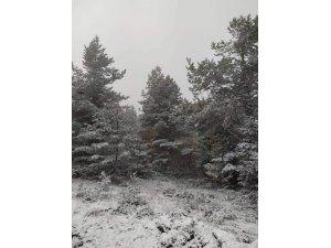 Kastamonu'da sahil bölgesinde kar yağışı etkili oluyor