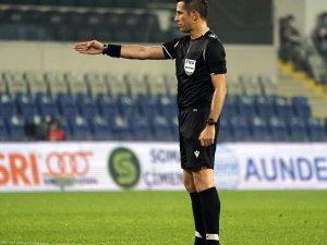 Galatasaray-Kayserispor mücadelesinin VAR hakemi Ali Palabıyık oldu
