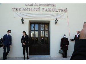 Gazi Üniversitesi Teknoloji Fakültesi binasına Ülkücü şehit Ertuğrul Dursun Önkuzu'nun adı verildi