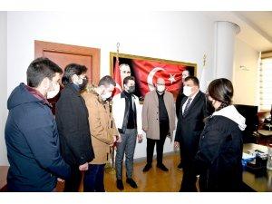 Öğretmenler, Başkan Gürkan'ın Öğretmenler Günü'nü kutladı