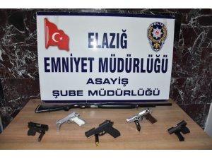 Elazığ'da çeşitli suçlardan aranan 26 şüpheli tutuklandı