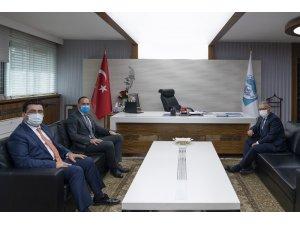 Niğdeli başkanlardan Başkan Büyükkılıç'a ziyaret