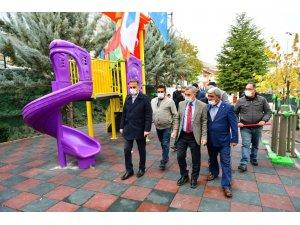 Yeşilyurt Belediyesi Bahçebaşı Parkı hizmete girdi
