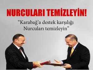"""Azerbaycan'a Aliyev'e """"Nurculuk"""" dosyası vermek için gitmiş"""