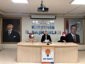 """AK Parti Kadın Kolları Başkanı Düğer: """"Şiddetle mücadelemizi her yerde haykırıyoruz"""""""