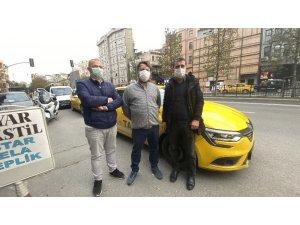 Kadın müşterinin zor anlar yaşattığı taksici konuştu
