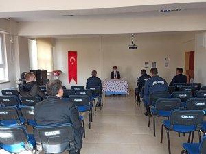 Aslanapa,'da 'Kadına yönelik şiddetle mücadele' toplantısı