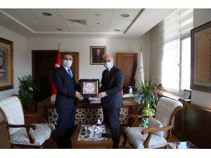 Rektör Ünal'ın Ankara temasları