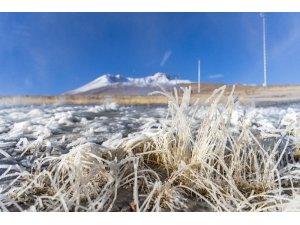 Erciyes kayak pistlerinde suni karlama başladı