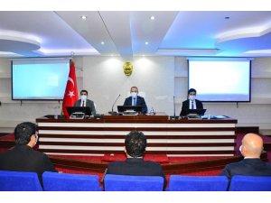Ardahan'da kış tedbirleri trafik güvenliği toplantısı yapıldı