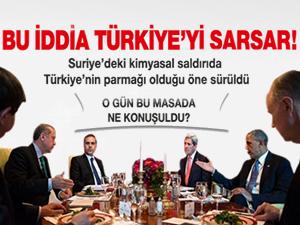 Dehşet iddia: Sarin gazını Türkiye verdi