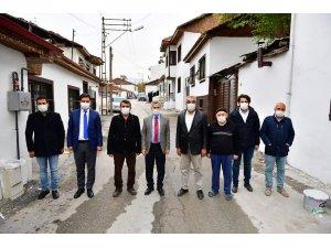 Kiltepe'nin iki caddesi 'sokak sağlıklaştırma' projesiyle güzelleştirildi