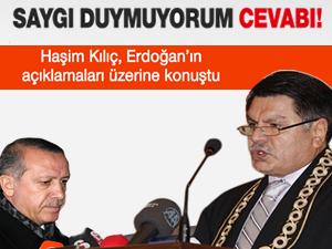 Haşim Kılıç: AYM kararını oybirliğiyle verdi!
