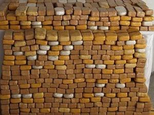 Erzurum'da yarım ton eroin ele geçirildi