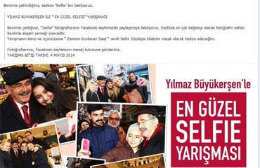 Selfie çılgınlığı Eskişehir'de yarışmaya dönüştü