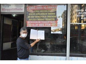 Yurt dışında yaşayan hayırseverlerden örnek davranış: Fırıncının veresiye defterindeki borcu kapattılar
