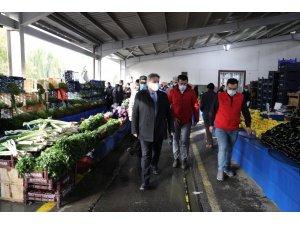 Melikgazi'de pazar yeri denetimleri aksatılmadan yapılıyor