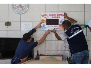 Battalgazi'de Askıda ekmek projesi yaygınlaşıyor