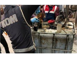 Antalya merkezli 4 ilde 94 bin 500 litre kaçak akaryakıt ele geçirildi