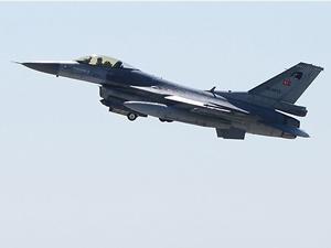 Suriye'den Türk jetlerine 8 dakika taciz