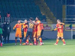 Süper Lig: Çaykur Rizespor: 0 - Galatasaray: 4 (Maç sonucu)