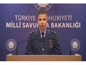 """MSB: """"Pençe-3 Harekatı ile bugüne kadar toplam 348 terörist etkisiz hale getirilmiştir"""""""