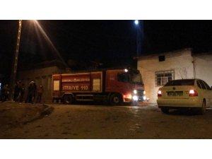 Sungurlu'daki ev yangını