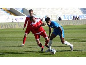 Süper Lig: BB Erzurumspor: 1 - FT Antalyaspor: 0 (İlk yarı)