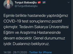 Hendek Belediye Başkanı Babaoğlu ve eşi korona virüse yakalandı