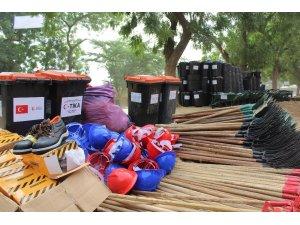 TİKA'dan Kamerun'da Kentsel Atıklarla Mücadele Seferberliği