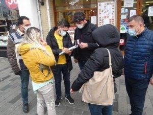 İstiklal Caddesi'nde tedbirlere uymayanlara ceza yağdı