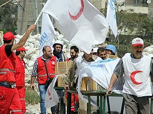 Halep'te geçici ateşkes