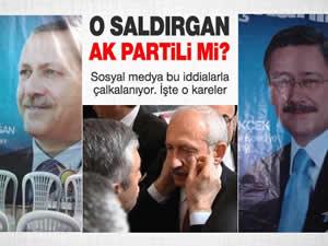 Kemal Kılıçtaroğlu'na saldıran kişi AK parti üyesimi